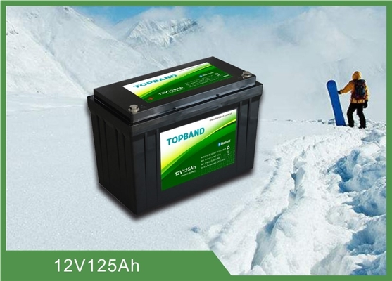 Durable Lithium Iron Phosphate Battery 12V 125ah with low temperature function